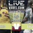 Resultado Colombia vs Argentina en Amistoso Pre-Olímpico Sub-23(0-0)