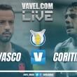 Resultado Vasco x Coritiba pelo Campeonato Brasileiro 2017 (1-1)