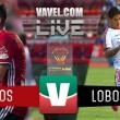 Xolos y Lobos se reparten puntos en la Copa MX