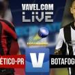Jogo Atlético-PR x Botafogo AO VIVO minuto a minuto no Campeonato Brasileiro 2016