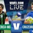 Resultado América-MG x Cruzeiro (0-2)