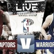 Resultado Raptors vs Warriors en vivo online en NBA 2016