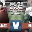 Gran segunda parte del Sevilla Atlético que le permite la victoria ante un Elche algo desaparecido
