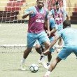 Sport treina na Ilha antes de enfrentar Fluminense