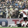 El festejo del segundo gol. River está a una victoria de la Copa (Foto: Infobae).