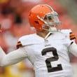 Cleveland Browns Quarterback Johnny Manziel Dropped By Agent Erik Burkhardt