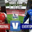 Arsenal 2-0 Everton: As it happened