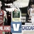 EA7 Milano - Banco di Sardegna Sassari diretta, LIVE Final Eight 2017 Coppa Italia basket (18.00)