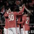 Benfica x Chaves: águias garantem liderança em dia de enchente na Luz (3-1)