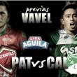 Patriotas vs. Deportivo Cali: el Cali quiere sumar en Tunja