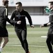 El Málaga se ejercita con Cop en el grupo