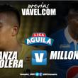 Alianza Petrolera - Millonarios: un mal local y un pésimo visitante