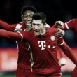 """Ancelotti destaca jogo difícil e exalta Lewandowski: """"Estamos felizes por tê-lo"""""""