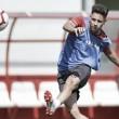 Último entrenamiento con vistas al partido ante el Sevilla