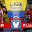 Junior vs Medellín en vivo y en directo online en Liga Águila 2017 (0-0)