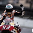 """MotoGP, HRC - Marquez e gli auguri al Dottore: """"Spero non migliori, invecchiando"""""""