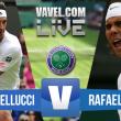 Thomaz Bellucci x Rafael Nadal ao vivo online pelo Grand Slam de Wimbledon (0-0)