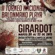 Este viernes inicia el Nacional de Balonmano Playa Héctor Velez en Girardot