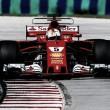 Ferrari copó la fila inicial