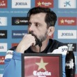 """Quique Sánchez Flores: """"Los dos equipos tenemos el mismo objetivo"""""""