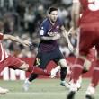 Com um a menos, Barcelona busca empate contra Girona e segue líder na La Liga