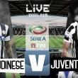 Udinese - Juventus in diretta, LIVE Serie A 2017/18 (18:00)