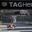 Vettel lideró el doblete de Ferrari