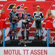Moto 3: à un cheveu de la victoire française