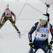 Biathlon, Ostersund: Dorothea Wierer splendida seconda, Martin Fourcade vince per dispersione la gara maschile