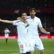 El Sevilla gana ante un Valencia desconocido