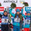Biathlon - Anterselva: Wierer si arrende solo a Podchufarova nella Sprint femminile