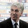 """Atalanta, amaro Gasperini: """"Prestazione buona, il risultato ci penalizza"""""""