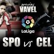 Previa Sporting-Celta: Tres puntos para dos objetivos distintos