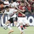 Lutando contra o rebaixamento, São Paulo recebe embalado Flamengo no Pacaembu