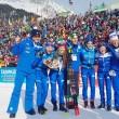 """Biathlon, Dorothea Wierer: """"Tifosi italiani sempre di più, siamo una squadra forte che si fa conoscere"""""""