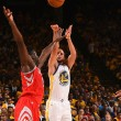 NBA playoffs- Buona la prima ad Oakland per gli Warriors, Rockets demoliti