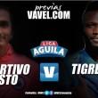 Deportivo Pasto - Tigres: el conjunto 'tricolor' va por sus primeros tres puntos en condición de local