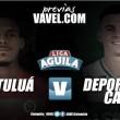 Previa Cortuluá- Cali: ganar el objetivo en el clásico joven