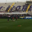 Tenso entrenamiento de la Fiorentina en el Franchi