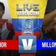 Junior venció a Millonarios sobre el final en Copa Aguila 2017 (1-0)