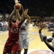 Risultato finale EA7 Milano - Juve Caserta (91-86): l'Olimpia vince e vola in testa alla classifica