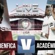 Resultado Benfica - Académica (3-0): dos penaltis señalan el camino