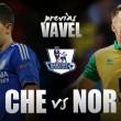Chelsea- Norwich City: 'match ball blue', con saque
