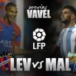 Levante UD - Málaga CF: lucha por terminar el año con esperanzas