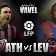 Athletic Club – LevanteUD: el Levante busca resucitar en la Catedral