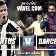 Previa Juventus - Barcelona: por el pase a la siguiente ronda