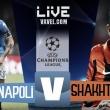 LIVE Napoli - Shakhtar Donetsk, diretta Champions League 2017/18