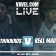 Partido Panathinaikos vs Real Madrid en vivo y en directo en Euroliga 2017