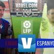 Resultado Eibar vs Espanyol en Liga BBVA 2016 (2-1)