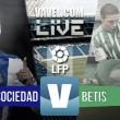 Resultado Real Sociedad - Real Betis en Liga BBVA 2016(2-1)